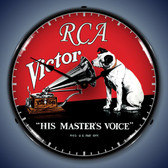 Vintage-Retro  RCA Victor Lighted Wall Clock