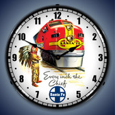 Vintage-Retro  Sante Fe Chief Lighted Wall Clock