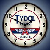Vintage-Retro  Tydol Lighted Wall Clock