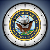 Vintage-Retro  US Navy Lighted Wall Clock