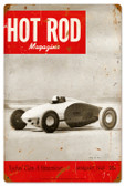 Vintage-Retro Hot Rod Magazine 17899 Metal-Tin Sign