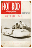 Vintage-Retro Hot Rod Magazine 18172 Metal-Tin Sign