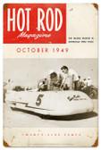 Vintage-Retro Hot Rod Magazine 18172 Metal-Tin Sign
