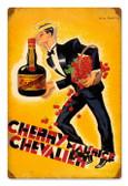 Vintage-Retro Cherry Brandy Tin-Metal Sign