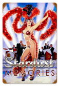 Vintage-Retro Stardust Memories Metal-Tin Sign