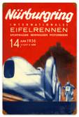 Vintage-Retro Nurburgring Metal-Tin Sign 16 x 24 Inches