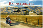 Retro Barnstormer Tin Sign 36 x 24 Inches