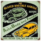 Vintage  Auto Body Shop Metal Sign