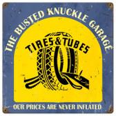 Vintage  Tire Shop Metal Sign