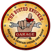 Vintage  Busted Knuckle Garage Tin Sign 7