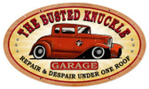 Vintage  Busted Knuckle Garage Tin Sign 5