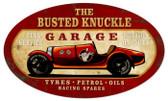 Vintage  Old Race Car Tin Sign 2
