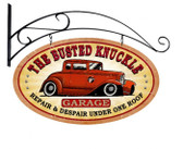 Vintage  Busted Knuckle Garage Tin Sign 2