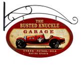 Vintage  Old Race Car Tin Sign 1
