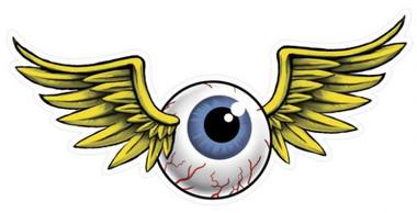 Retro Eyeball Metal Sign