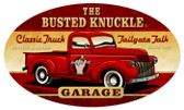 Retro Old Truck Metal Sign