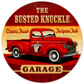 Vintage Old Truck 14 x 14 inches Tin Sign