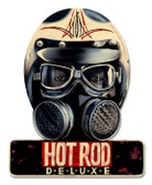 Vintage Hot Rod Deluxe 12 x 15 inches Tin Sign