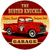 Vintage Old Truck 28 x 28 inches Tin Sign