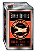 Retro Aero Eastern Oil Tin Sign 12 x 19  Inches