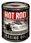 Retro Racing Oil Tin Sign 14 x 20  Inches