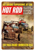Vintage-Retro Dirt Track (Aug. 1968) Metal-Tin Sign