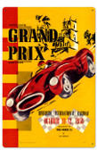 Vintage Riverside Grand Prix Metal Sign 16 x 24 Inches Inches