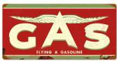 Retro Flying A Original Tin Sign 24 x 14 Inches