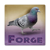 Vintage Pigeon Forge Tin Sign 12 x 12 Inches
