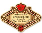 Vintage Garanti Perfume Tin Sign 12 x 9 Inches