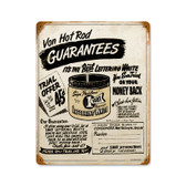 Retro One Shot Paint Metal Sign 12 x 15 Inches