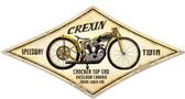 Retro Crexin Metal Sign 22 x 14 Inches