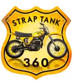 Retro Strap Tank 360 Metal Sign 15 x 15 Inches