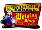 Retro Welding Hot Tip Custom Shape Metal Sign  18 x 11 Inches