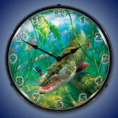 In The Thick of It Muskie Lighted Wall Clock