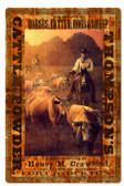 Retro Thompsons Cattle Powder Metal Sign 16 x 24 Inches