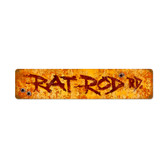 Retro Rat Rod Vintage Metal Sign 28 x 6 Inches