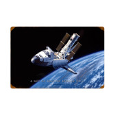 Retro Space Shuttle Vintage Metal Sign 24 x 16 Inches