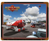 Retro Air Races  Metal Sign 15 x 12 Inches