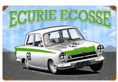Retro Consul Ecurie Ecosse  Metal Sign 18 x 12 Inches