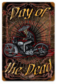 Vintage-Retro Day Of The Dead Metal-Tin Sign