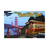 Cable Car Metal Sign 36 x 24 Inches