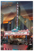 Pantages Theater Metal Sign 24 x 36 Inches