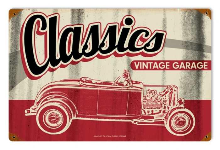 Retro Classic Garage Tin Sign
