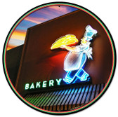 Bakery Round Metal Sign