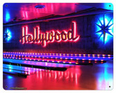 Hollywood Bowl Metal Sign 15 x 12 Inches