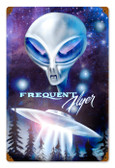 Vintage-Retro Frequent Flyer Metal-Tin Sign