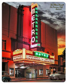 Metro Theatre Metal Sign 12 x 15 Inches