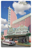 Fremont Theatre Metal Sign 24 x 36 Inches