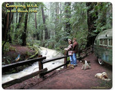 Camping USA 1949  Metal Sign 15 x 12 Inches